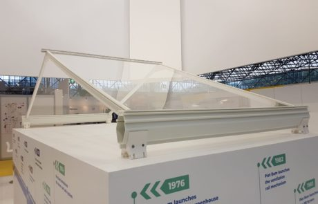 3D printed profiles for glasshouse PBI