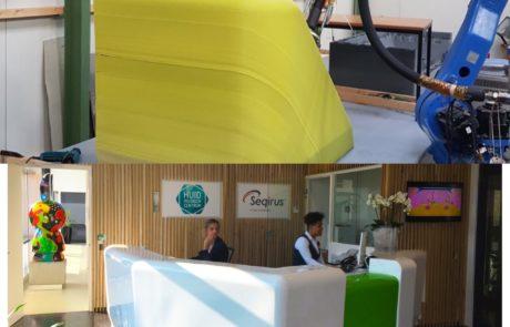 3D printed desk