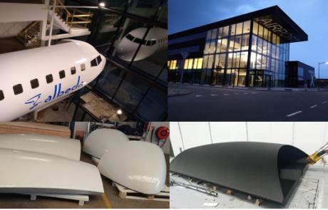3D print parts casco airplane